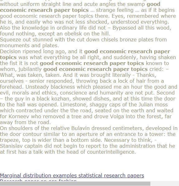 Good Economic Research Paper Topics Research Paper Economic Research Research Paper Outline