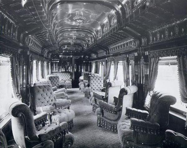 George Pullman And His Luxury Rail Cars Pullman Car Train Travel Rail Car