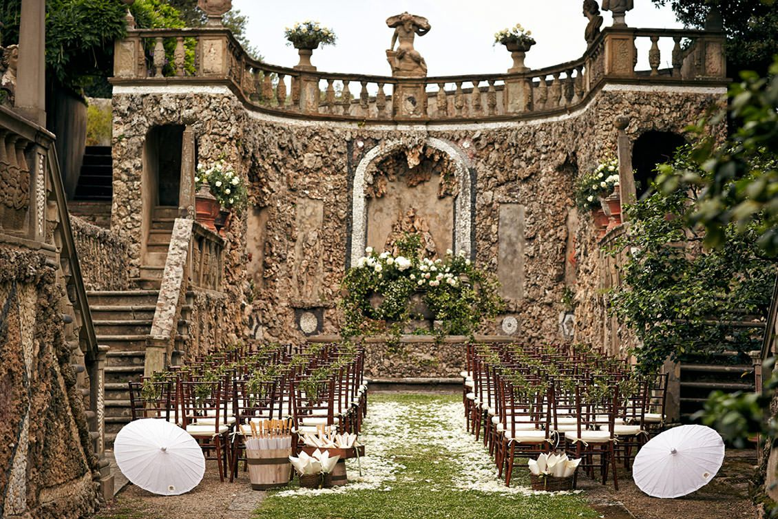 Villa Gamberaia Wedding A Stunning Location For Luxurious And Elegant International