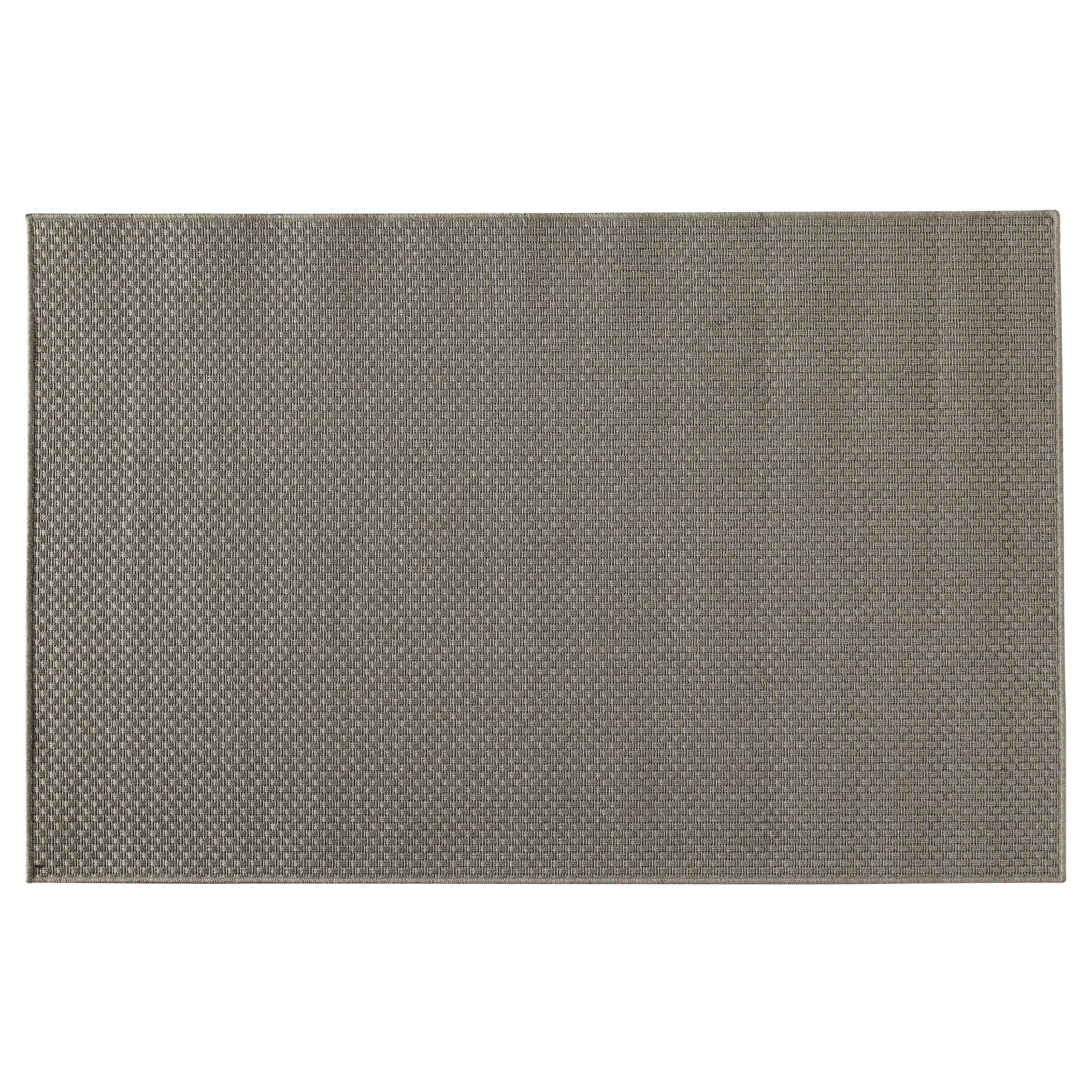 tappeto da esterno in polipropilene 120x180 cm maisons du monde tapis exterieur tapis gris exterieur gris
