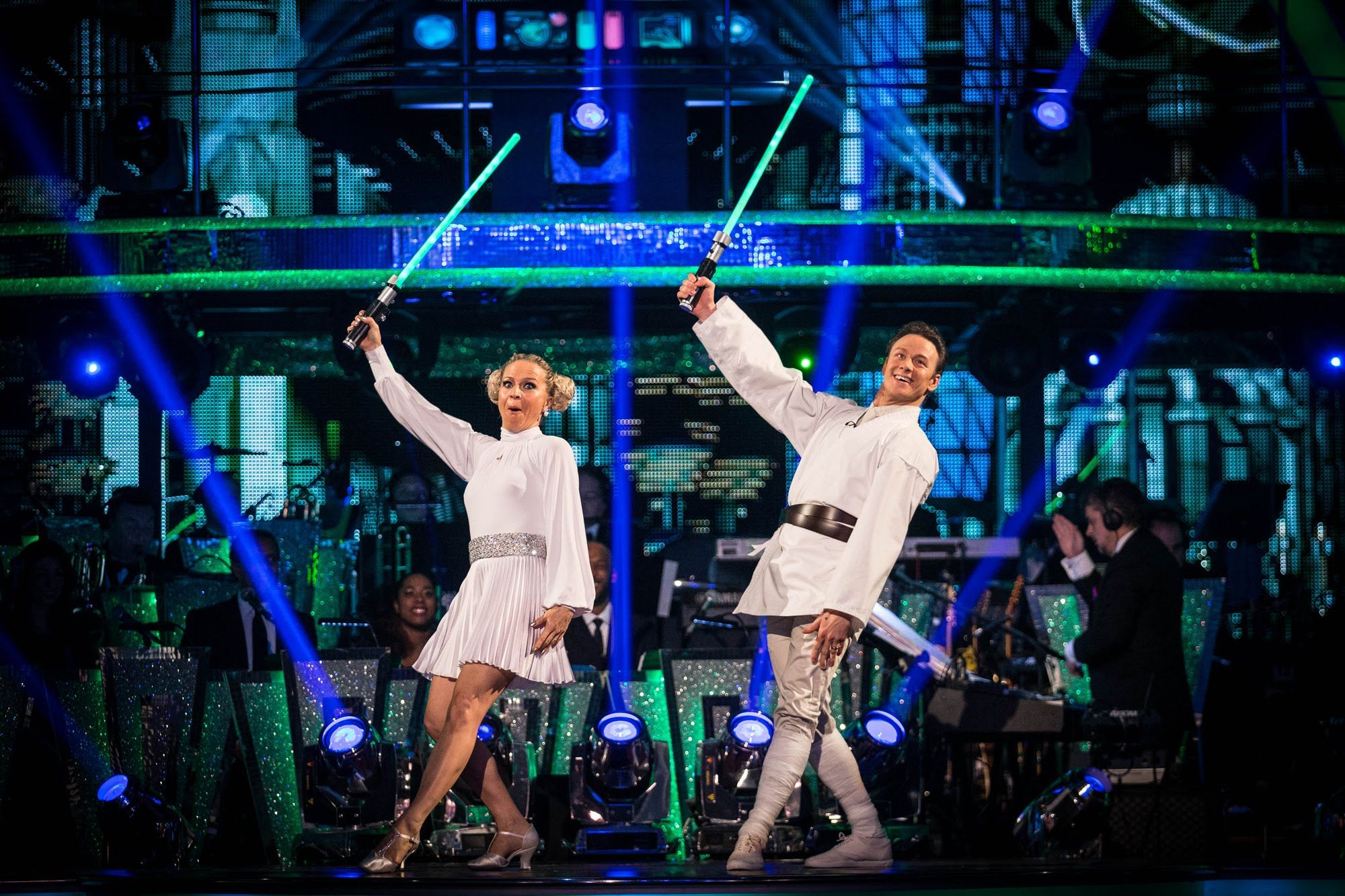 Kellie Bright Kevin Clifton Charleston To Star Wars Cantina Strictly Come Dancing 2015 Strictly Come Dancing Dance Kellie Bright