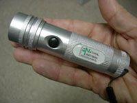 Win a Natural Handyman logo led flashlight