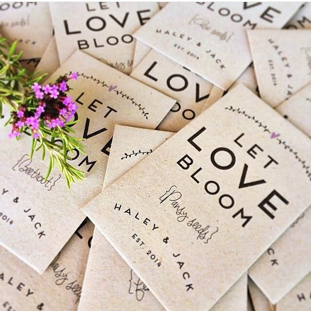 Custom Made Bridal Shoes Melbourne: Love Blooms - Seed Envelopes In 2019