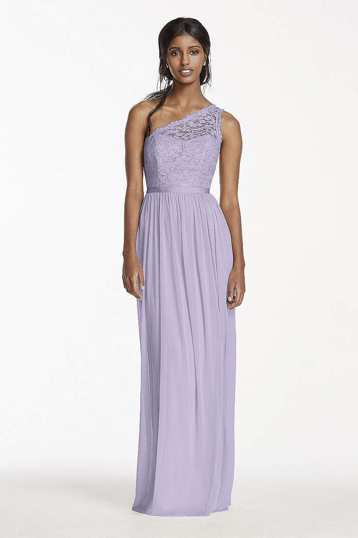 Does Your Bridal Party Prefer Long Bridesmaid Dresses At David S To Find