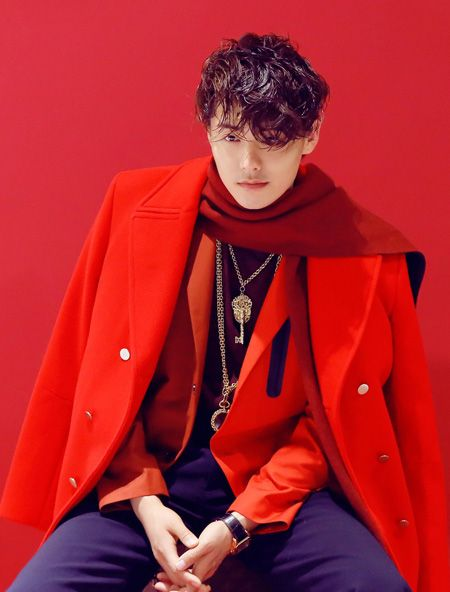 Actor Ma Tianyu poses a photo for fashion magazine. http ...