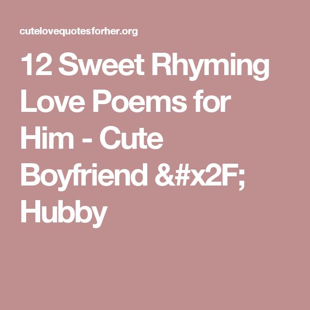 romantic love rhymes