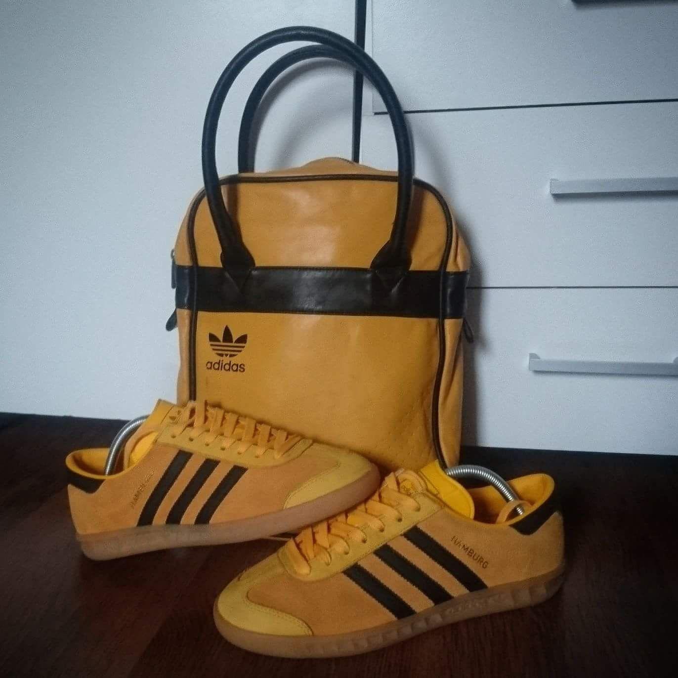 b0ab75481d49 Nice yellow adidas bag and Hamburgs