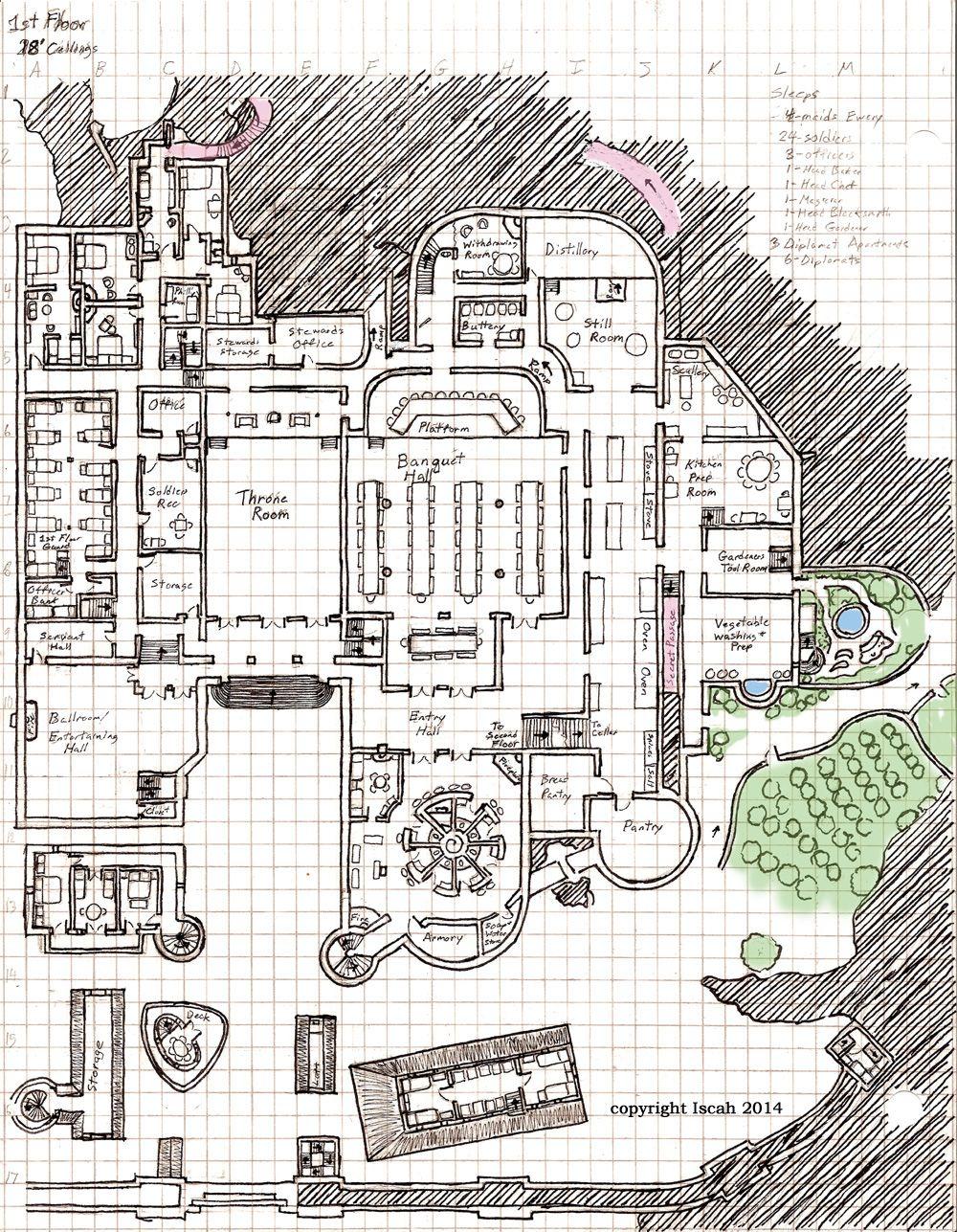 castle grounds layout - Google Search | World-Building | Pinterest ...