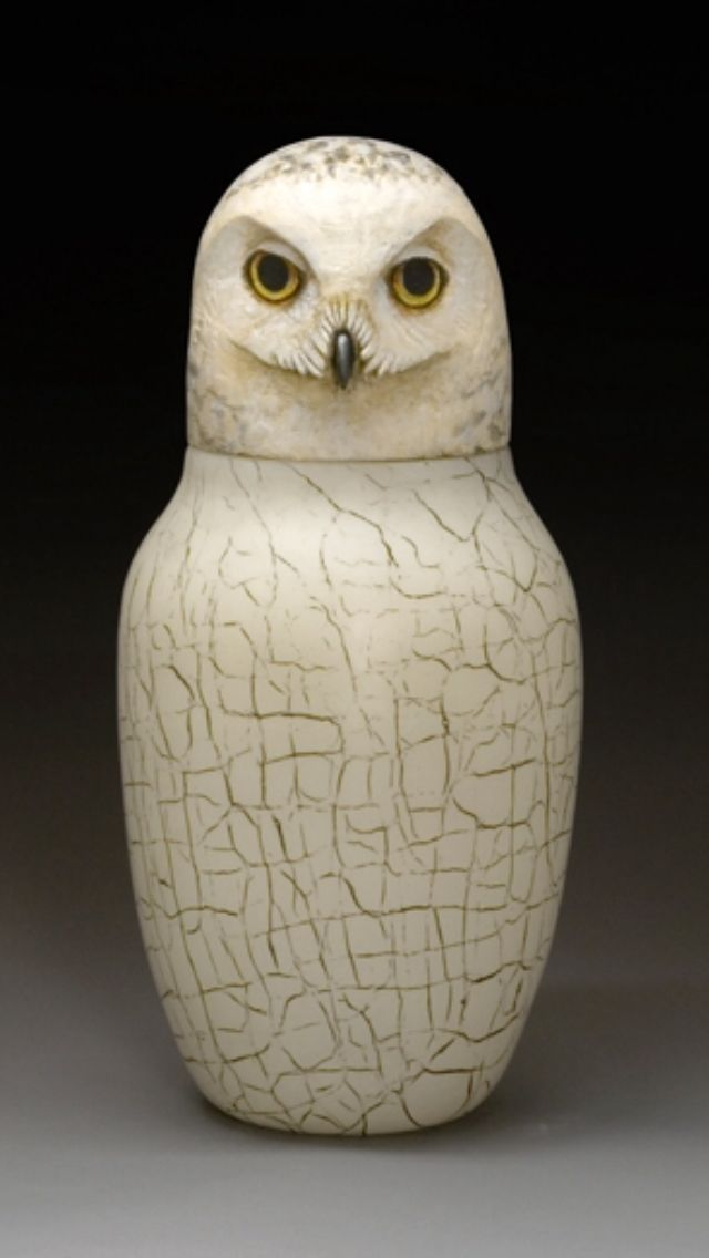 Canopic Jar Canopic Jars Owl Pottery Egyptian Art