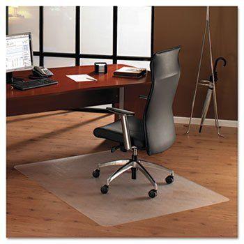 ClearTex Chair Mat for Hard Floors, 79w x 48l, Clear by Floortex ...