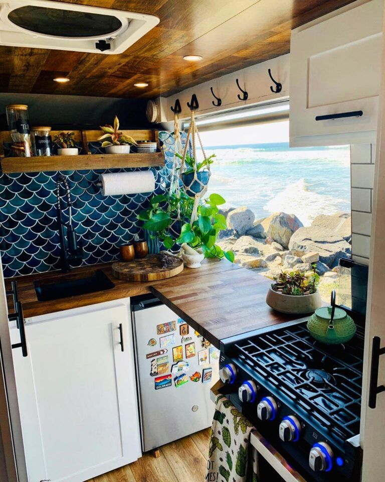 Aaron and Meg's Pro Master Van Conversion Fit for a Luxury Chef