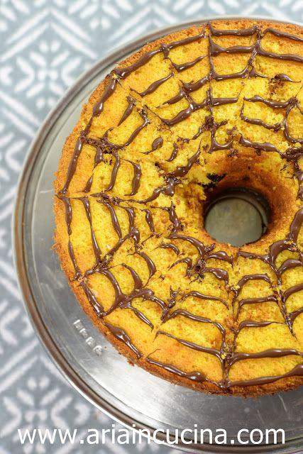 Chiffon Cake alla Zucca di Halloween | Pinterest