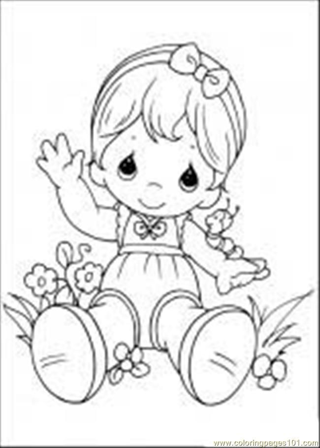 m and m coloring pages | Coloring Pages Precious Moments 03 M ...