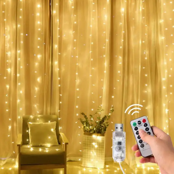 Pin On Top 10 Best Led Curtain Lights In 2019