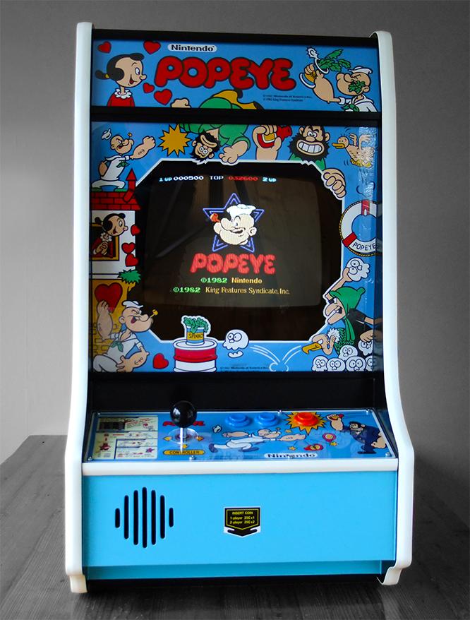 Bartop Arcade Popeye Retro Arcade Games Arcade Game Machines