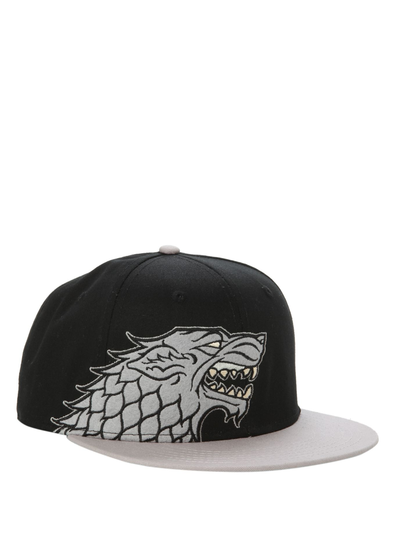 Game Of Thrones House Stark Snapback Ball Cap  54fbd528f65