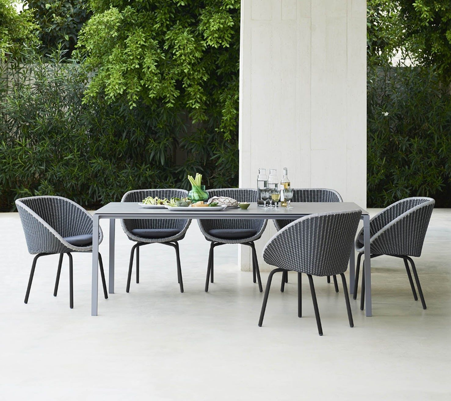 Peacock Dining Chair By Cane Line Modern Outdoor Dining Outdoor Dining Chairs Clearance Patio Furniture
