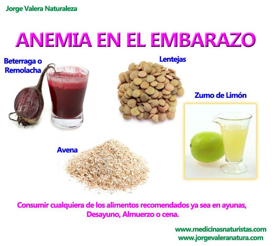 Anemia en el embarazo tips de embarazo pinterest embarazo nutrici n y remedios caseros - Alimentos que contengan hierro para embarazadas ...