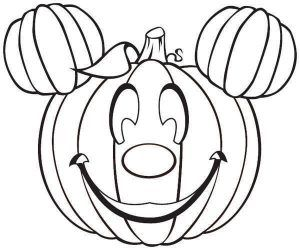 Mickey Mouse Pumpkin Coloring Pages Halloween Coloring Pages Printable Free Halloween Coloring Pages Pumpkin Coloring Pages