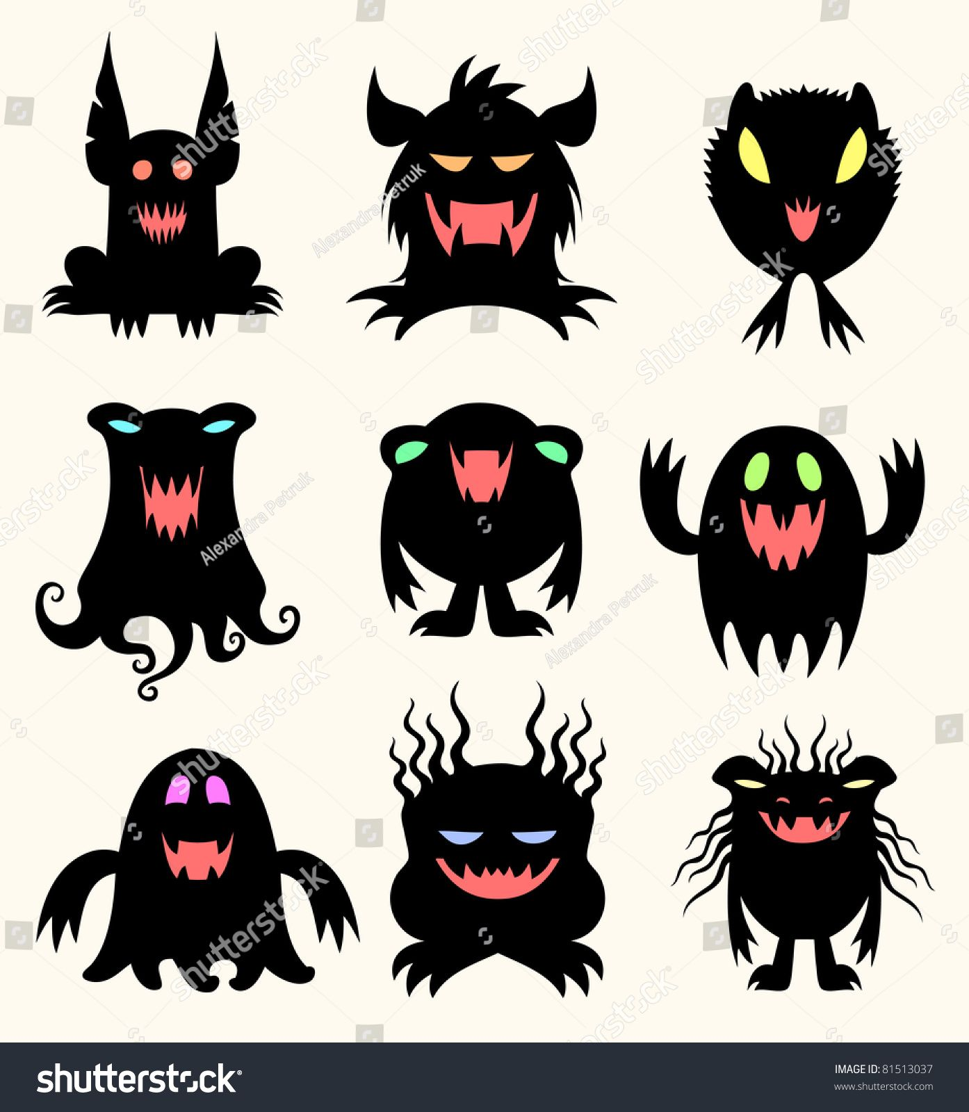 Children of the night | Monster vorlage | Pinterest | Child and ...