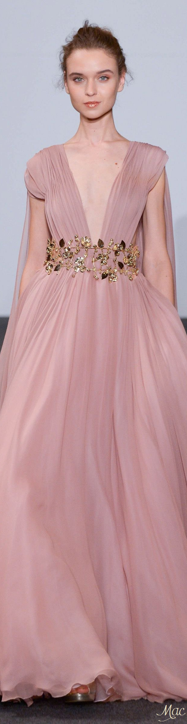 Spring 2016 Haute Couture Dany Atrache | Haute Couture pink & pink ...