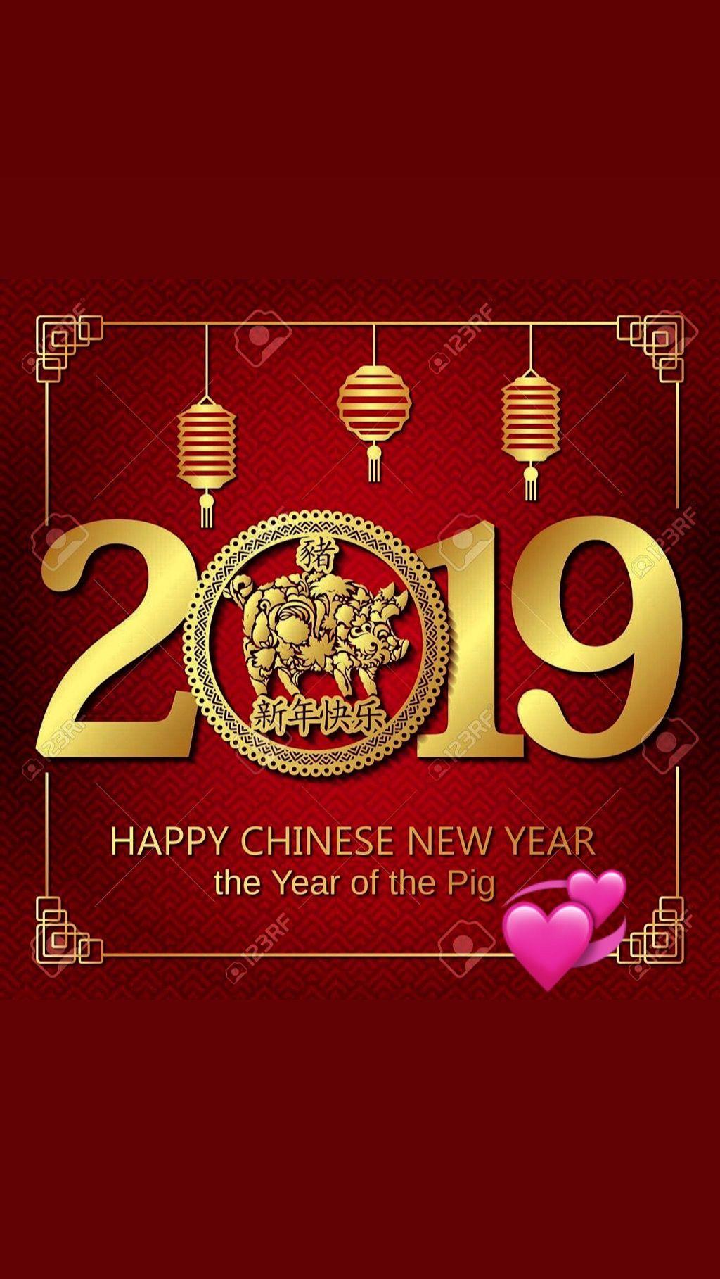 Happy Chinese New Year 2019...! 💞 Happy chinese new year