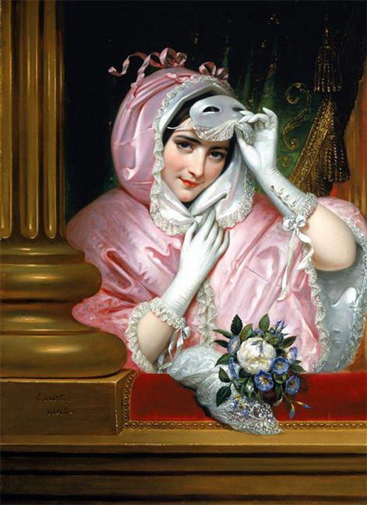 Le Masque,  Joseph-Desiré Court (1797-1865).