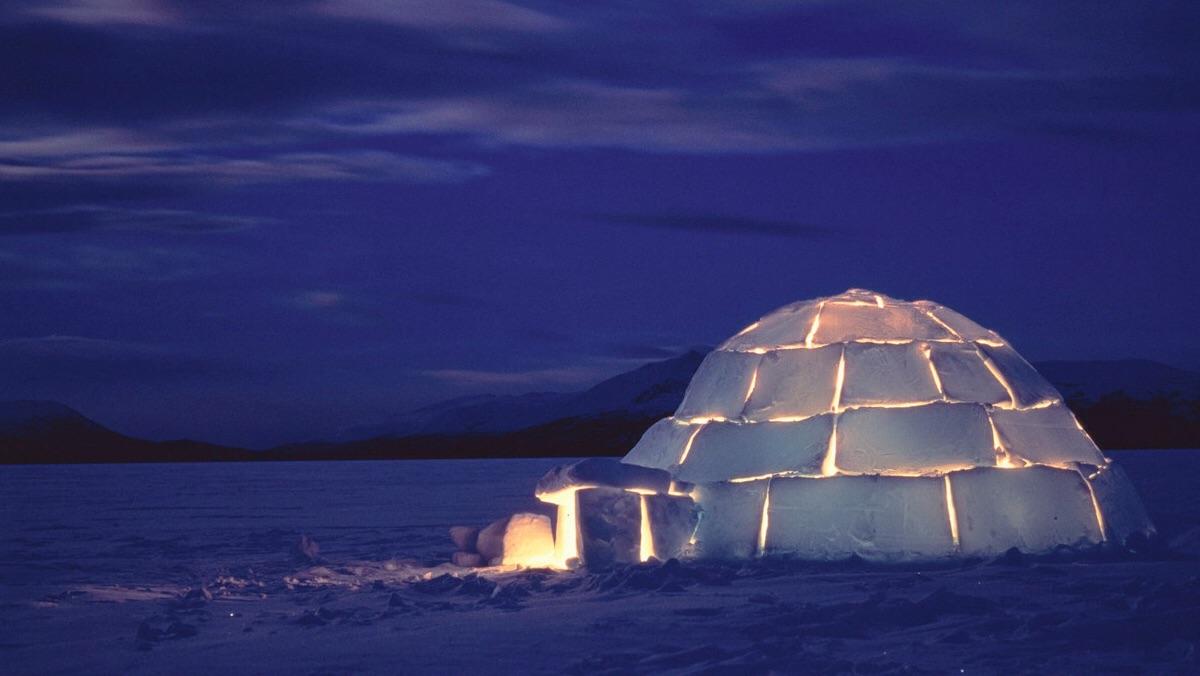 Faire la fête dans un igloo   Inspire me   Igloo building, Building