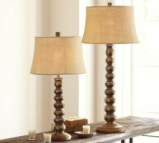 Sherwood Stacked Table Lamp Bases Table Lamp Table Lamp Base Wooden Lamp Base