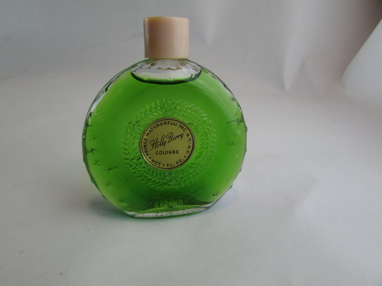 Vintage 1940 S Prince Matchabelli Holly Berry 1 Oz Cologne By Cosmokra On Etsy Prince Matchabelli Vintage Perfume Bottles Vintage Perfume