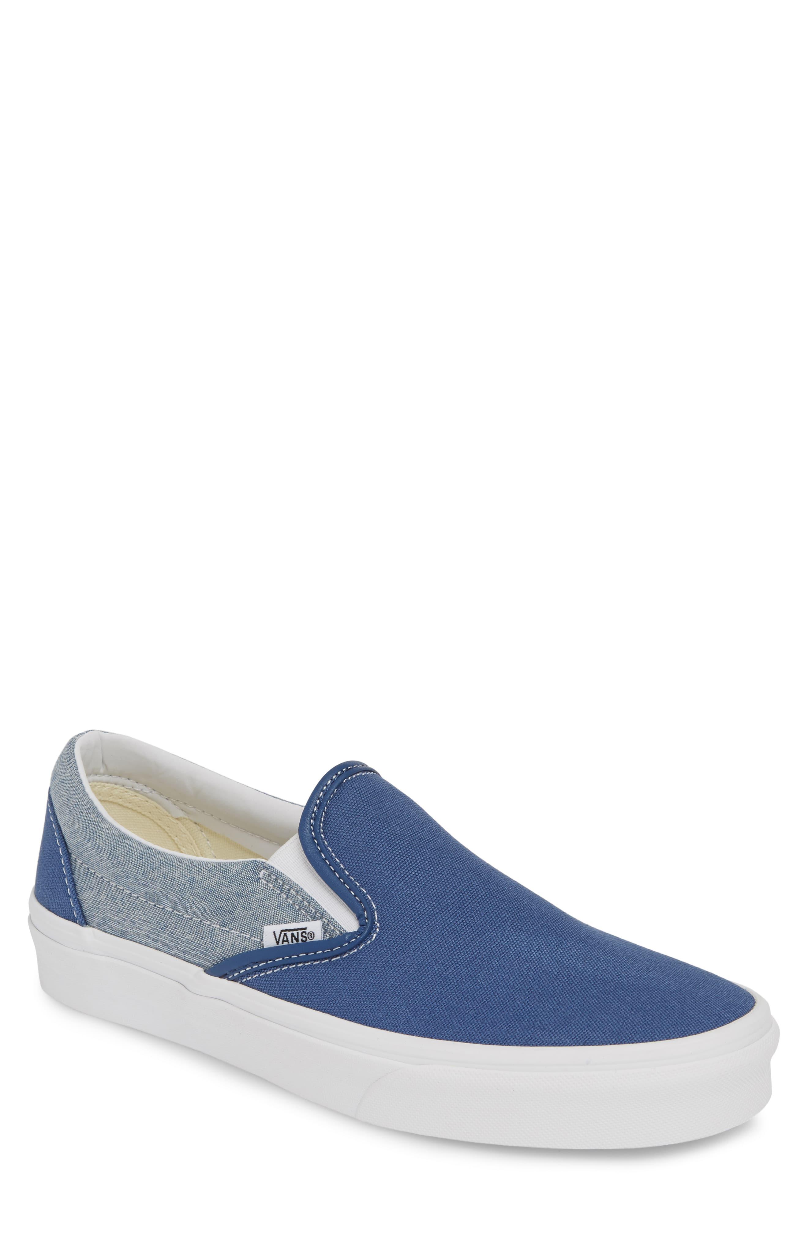 cfee878e Men's Vans 'Classic' Slip-On Sneaker, Size 9 M - White in 2019 ...