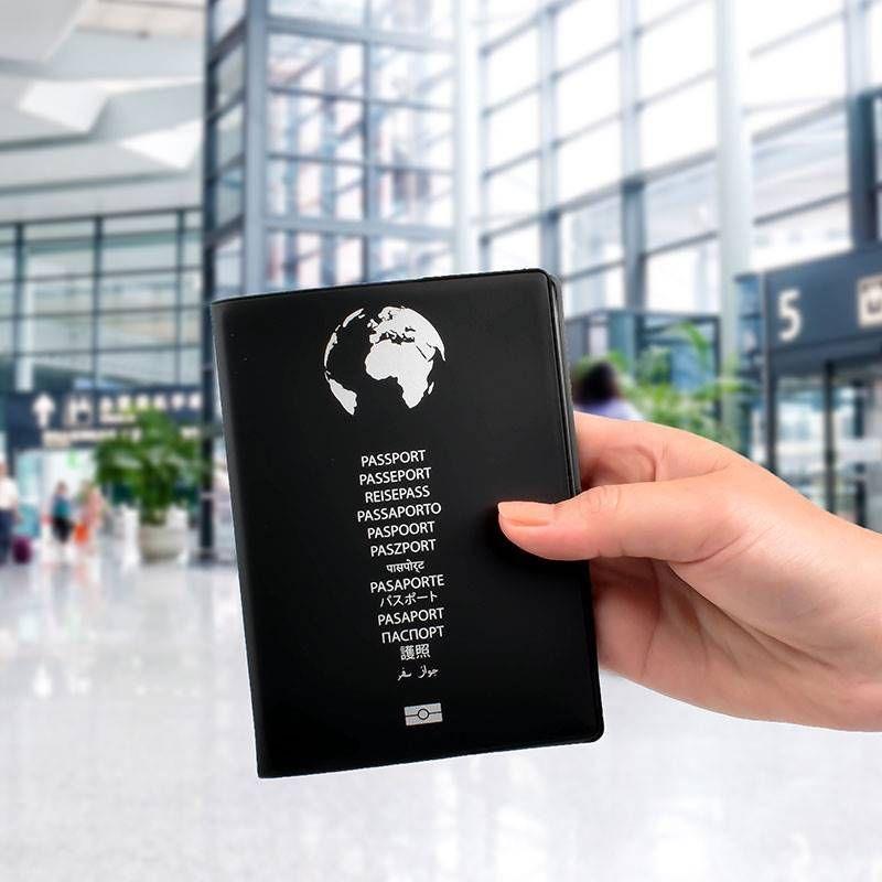 Etui Protection Passeport Bloquant Les Signaux Rfid Passeport