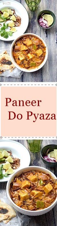 paneer do pyaza paneer dopiaza cottage cheese cheese and curry
