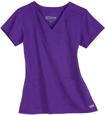 Scrubs - Grey s Anatomy by Barco Laser Cut Scrub Top | Uniforms ...