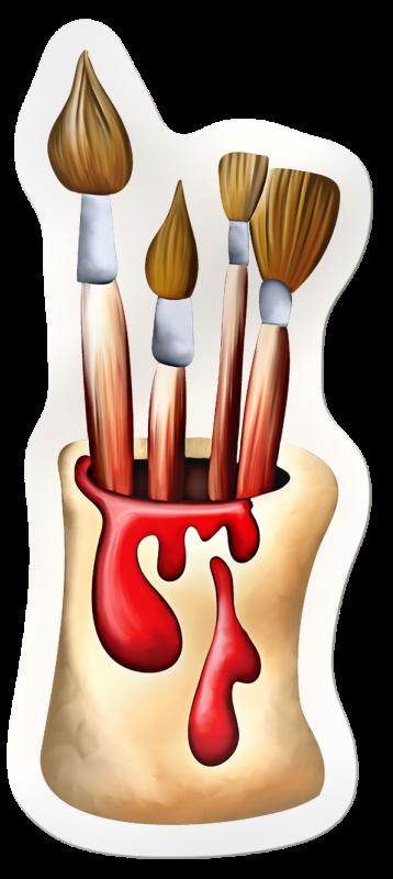 PAINT BRUSHES Clipart School Pinterest Clip art