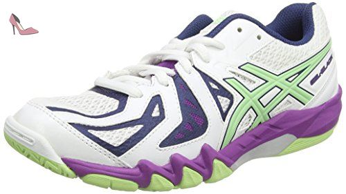 chaussure asics femme squash
