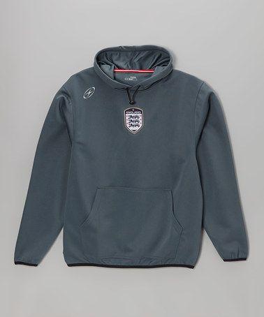 Look at this #zulilyfind! Steel Gray England Newport Hoodie - Men & Boys #zulilyfinds