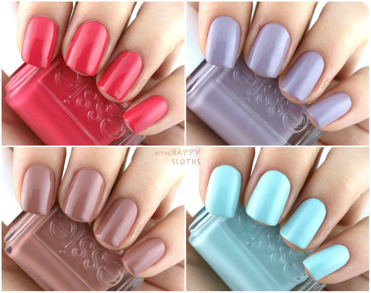 Essie Resort 2017 Collection: Swatches and Review | Swatch, Nail ...
