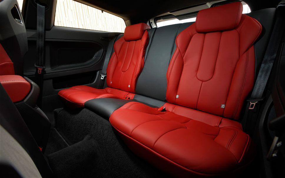 Range Rover Evoque Back Seat