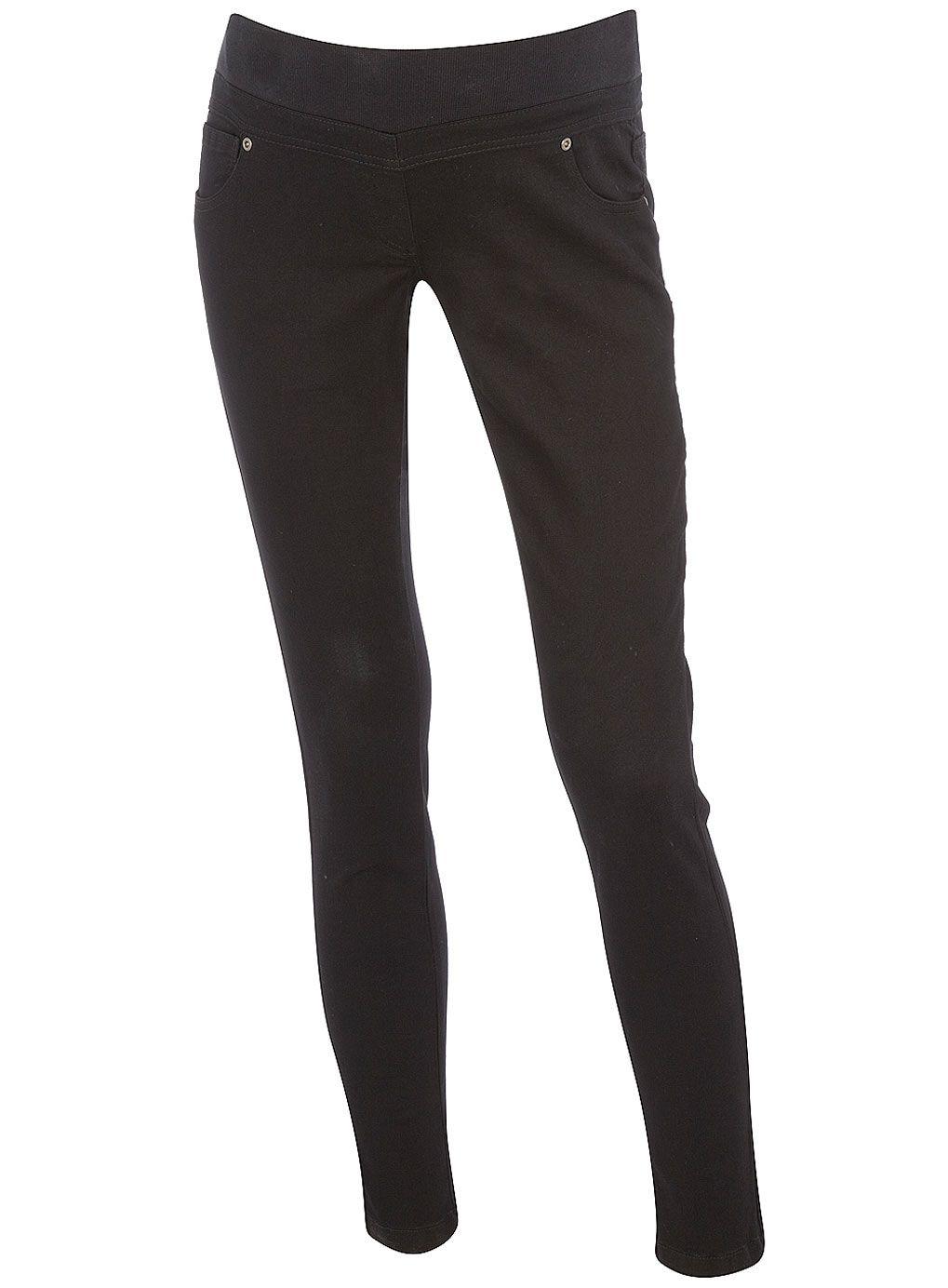 #Maternity black skinny jeans
