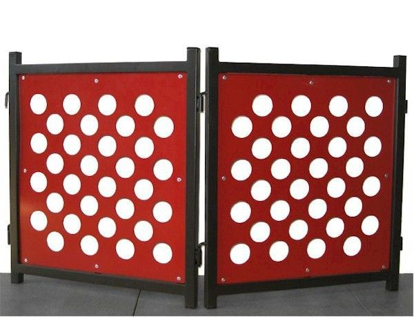The latest addition to our line of indoor freestanding dog gates ...