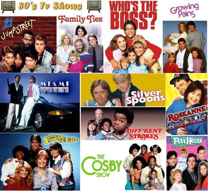 80s Tv Shows Minus Miami Vice Favorite Tv Shows 80