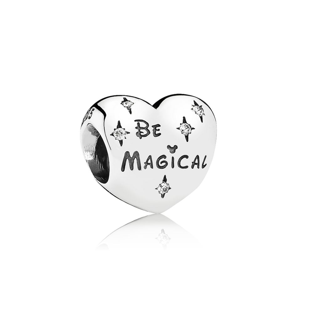 cda4794b7 Disney, Be Magical Charm - PANDORA PANDORA's classic heart charm has gained  a truly magical