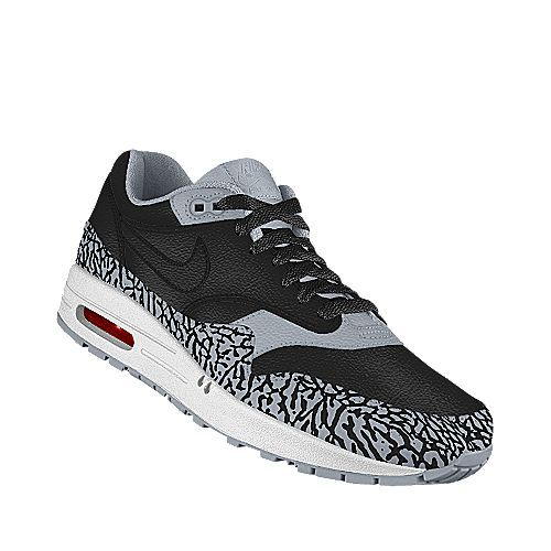 Black Cement Air Max 1's