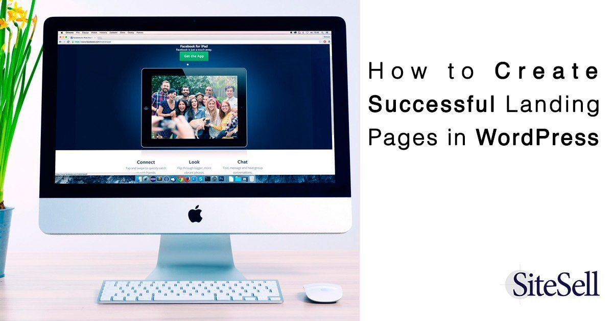Landing pages are some of the most important pages on your site, but they're so easy to get wrong...  How to Create Successful Landing Pages in WordPress - The SiteSell Blog - http://www.sitesell.com/blog/2016/04/how-to-create-successful-landing-pages-in-wordpress.html