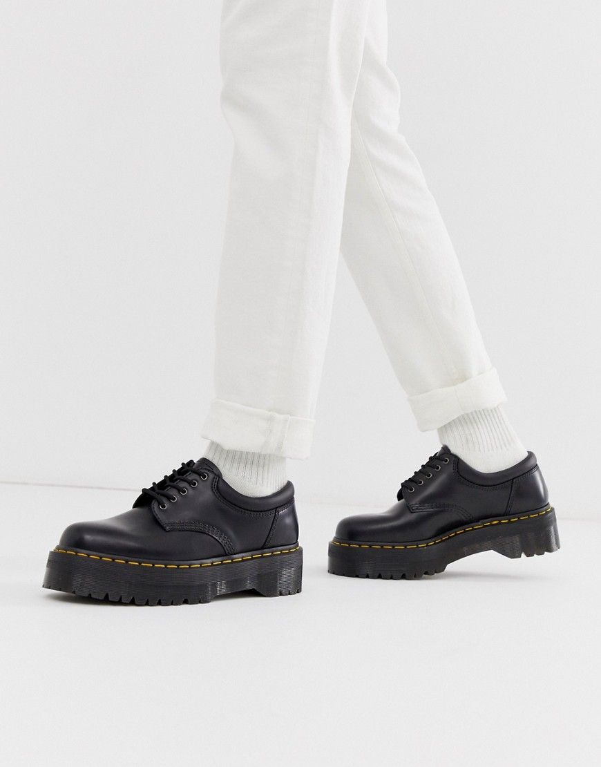 black low top doc martens