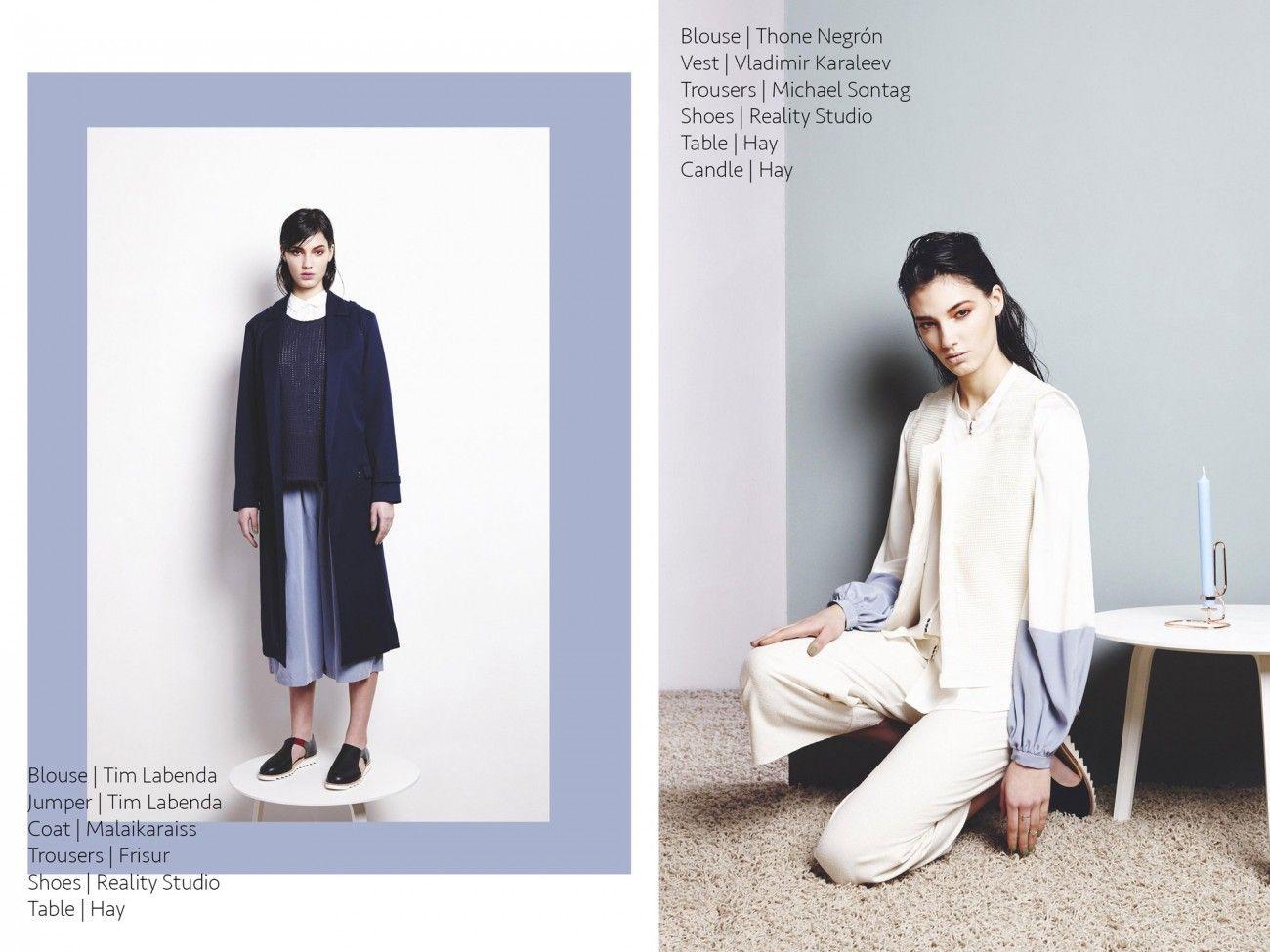 VLADIMIR KARALEEV in OE Magazine Photography: Jennifer Endom // Styling: Anna Sourminskaja
