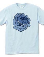 青いバラの様な…