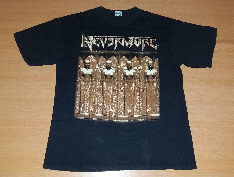 c8976d4d Vintage 1995 NEVERMORE European Tour Concert Promo album rare 90s T-shirt  by OldSchoolZone on Etsy
