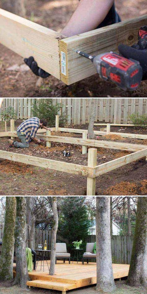 Détail du0027un moisage sur poteau terrasse Pinterest Deck patio - comment etancher une terrasse beton